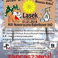 XVI Noworoczno - Bąbelkowa Impreza na Orientację